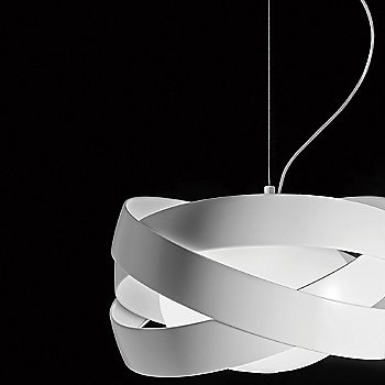 White Lacquered Matte finish, illuminated / Detail view