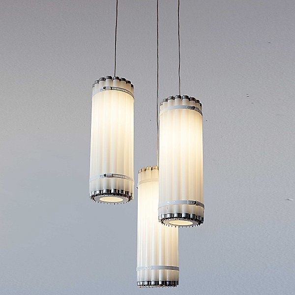 T8 Vertical Tube Pendant Light