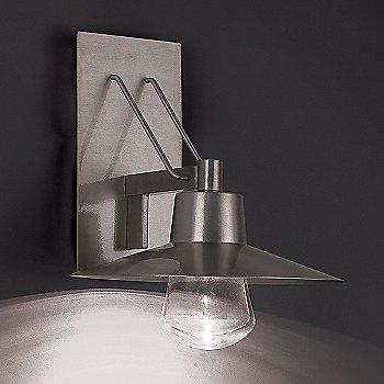 Brushed Aluminum finish / Large size, illuminated