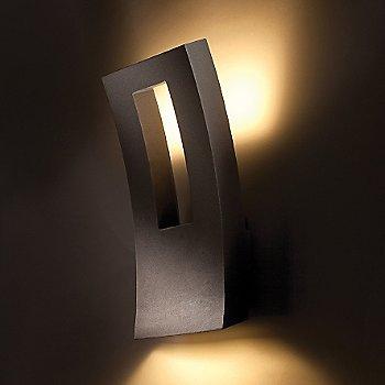 Bronze finish, illuminated