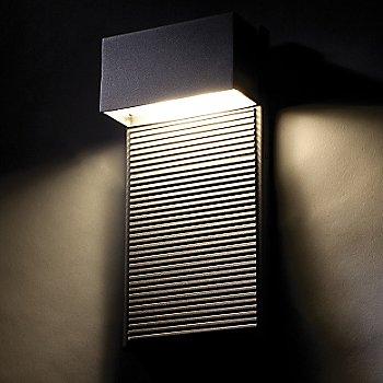 Medium Size / Black finish, illuminated