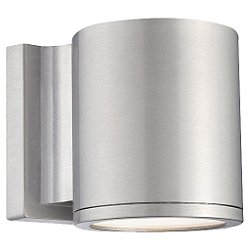 Tube 5 Inch Outdoor LED Wall Light