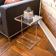 Acrylic I-Beam Table