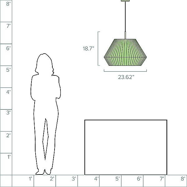 Mei Pendant Light