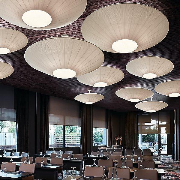 Siam Medium Semi-Flush Mount Ceiling Light