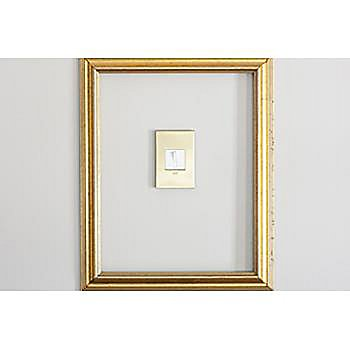 White finish, in use