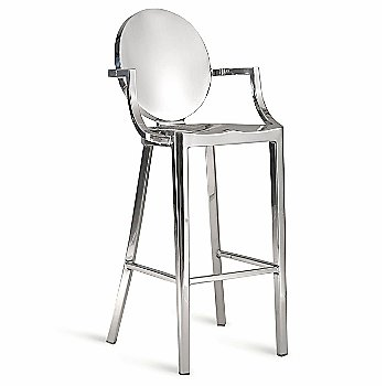 Bar Height / Polished Aluminum / With Arms