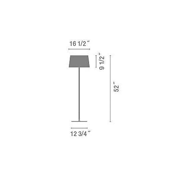 Warm 4905 Floor Lamp