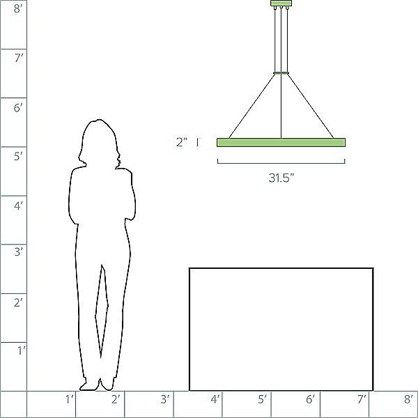 Corona LED Pendant Light