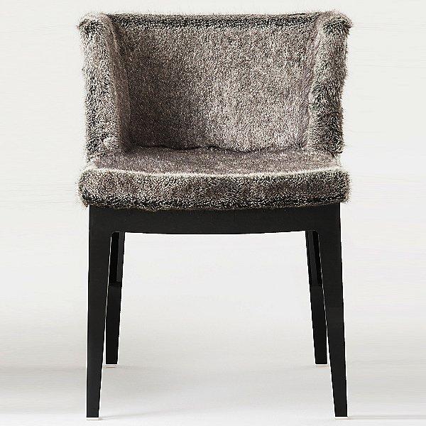 Mademoiselle Kravitz Chair, Faux Fur