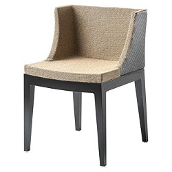 Mademoiselle Kravitz Chair, Raffia Fabric