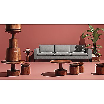 Turn Coffee Table with Turn Stool, Turn Low Side Table, Turn Tall Side Table and New Standard Sofa
