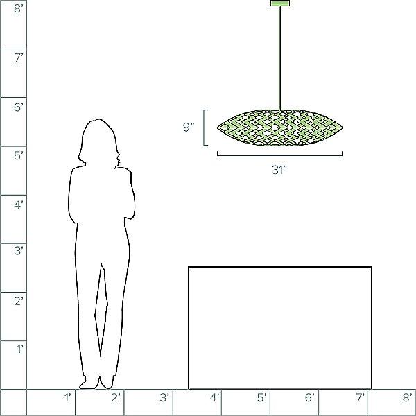 Flax Pendant Light