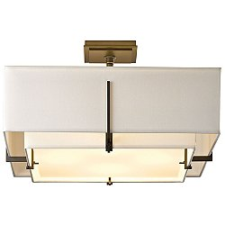 Exos Square Semi-Flush Mount Ceiling Light
