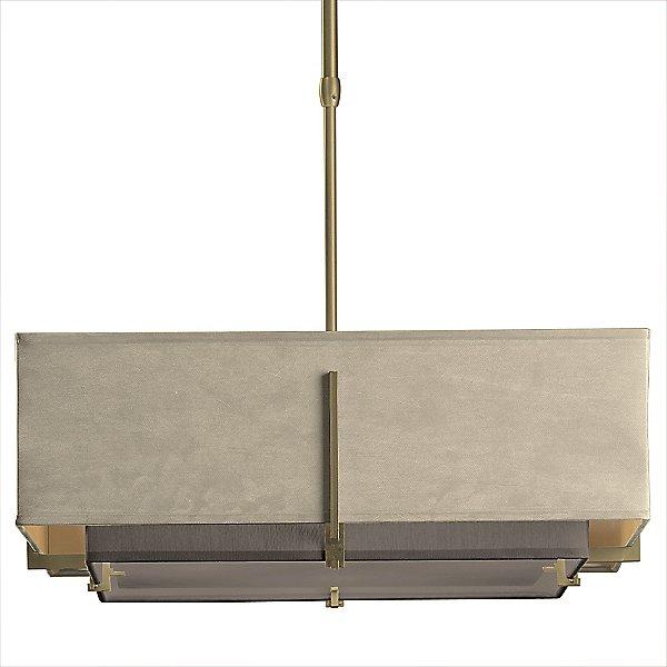 Exos Square Double Shade Pendant Light