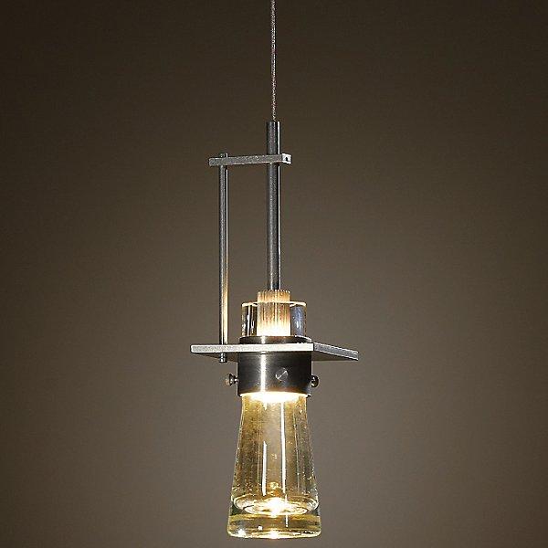 Erlenmeyer Large Vintage Gold Pendant Light