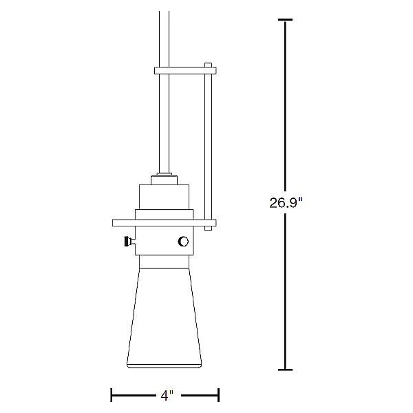 Erlenmeyer Large Pendant Light