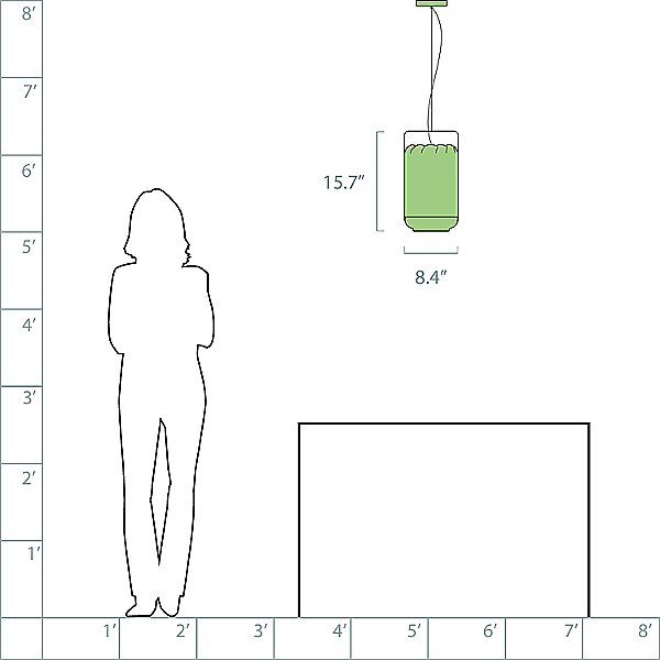 Chou Small Pendant Light
