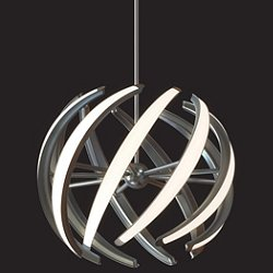 Swirl LED Pendant Light