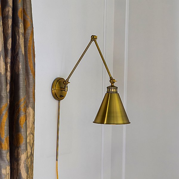 Aiden Swing Arm Wall Sconce