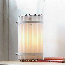 Recycled Tube Light - Table Lamp