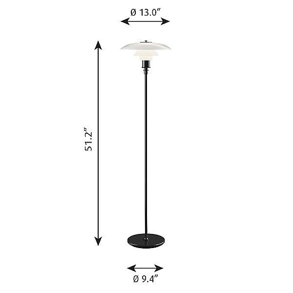 PH 3½ - 2½ Floor Lamp