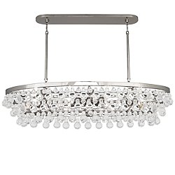 Bling Oval Chandelier