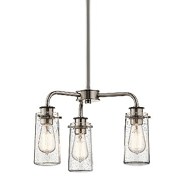 Shown in Classic Pewter finish, 3 Light