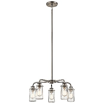 Shown in Classic Pewter finish, 5 Light