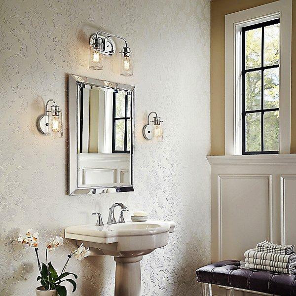 Braelyn Bathroom Wall Sconce