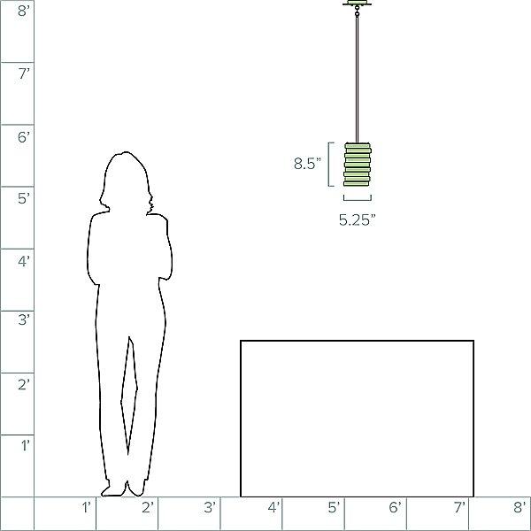 Roswell Mini Pendant Light