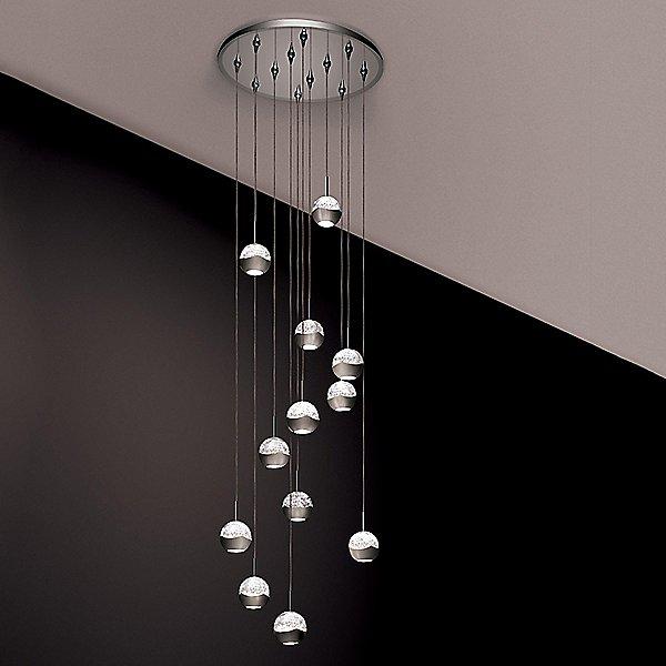 Genesis Mirrored Canopy Pendant Light
