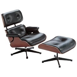 Miniature Eames Lounge Chair & Ottoman