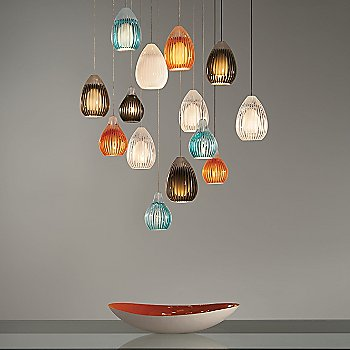 Shown with Avery Pendants