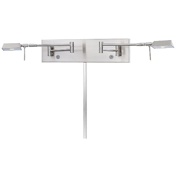 Georges Reading Room P4319 LED Swing Arm Wall Lamp