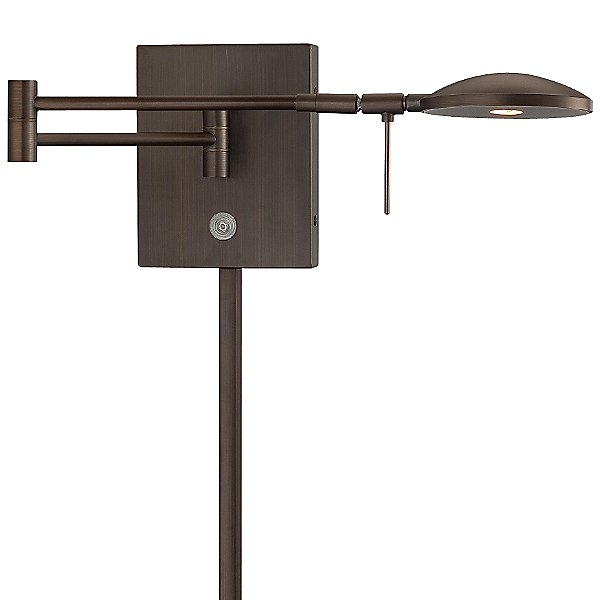 Georges Reading Room P4338 LED Swing Arm Wall Lamp