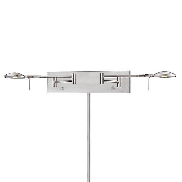 Georges Reading Room P4339 LED Swing Arm Wall Lamp