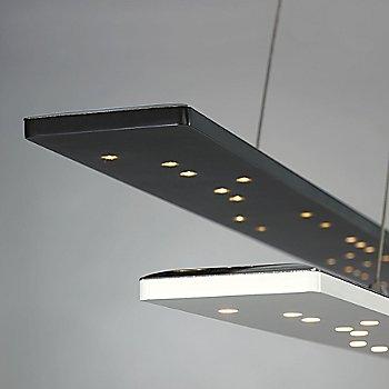 Black / White finish / Detail view