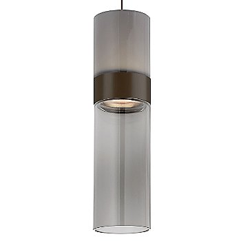 Smoke Top shade with Transparent Smoke Bottom shade / Antique Bronze with Antique Bronze finish