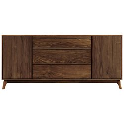 Catalina Three-Drawer Buffet with Flanked Doors