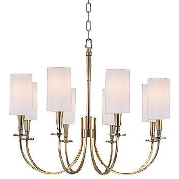 Aged Brass finish / 8 Light