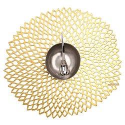 Dahlia Placemat (Gold) - OPEN BOX RETURN