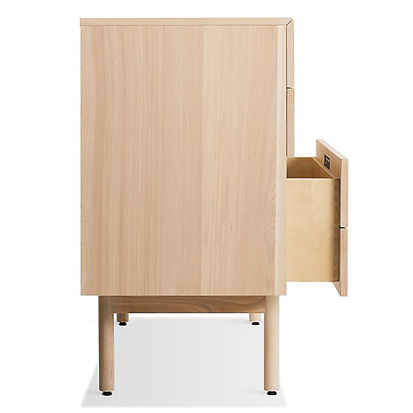Shale 4 Drawer/1 Door Credenza