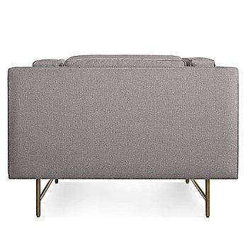 Vern Grey color / Brass finish