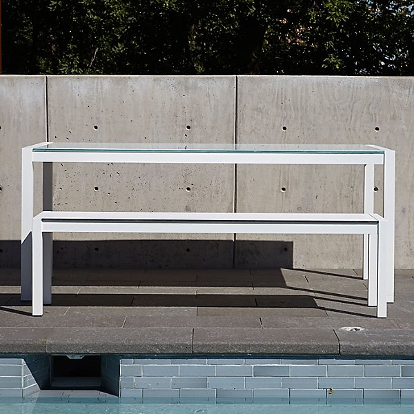 Skiff Outdoor Bench