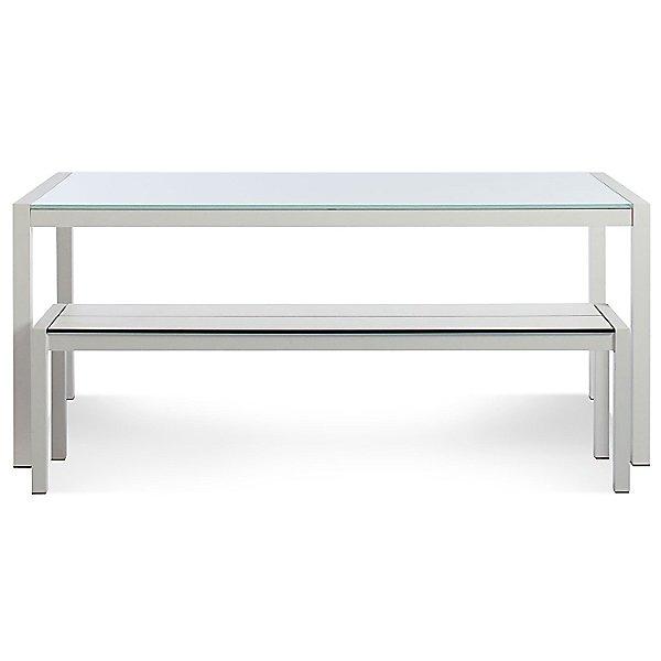 Skiff Outdoor Rectangular Glass-Top Table