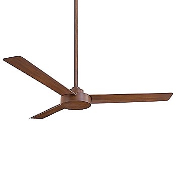 Distressed Koa Fan Body and Blade Finish, 52 inch