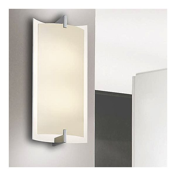 Double Arc Tall LED Wall Sconce