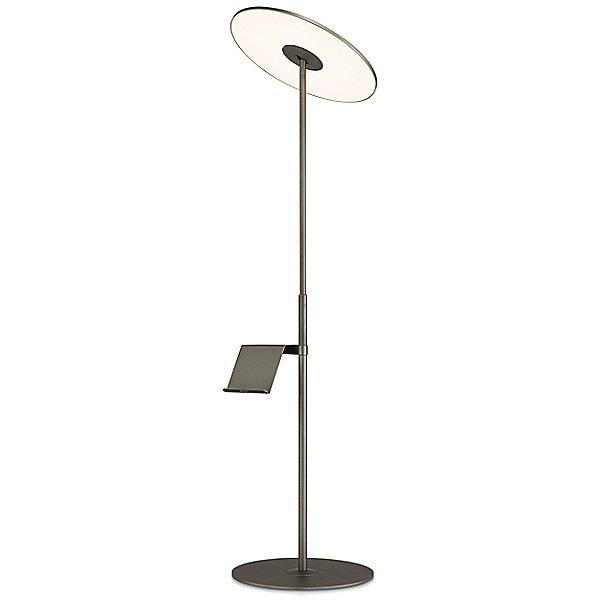 Circa Floor Lamp with Pedestal Table