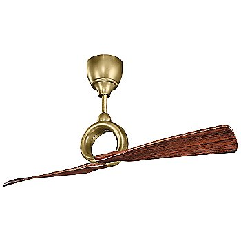 Shown in Natural Brass finish with Cherry blades